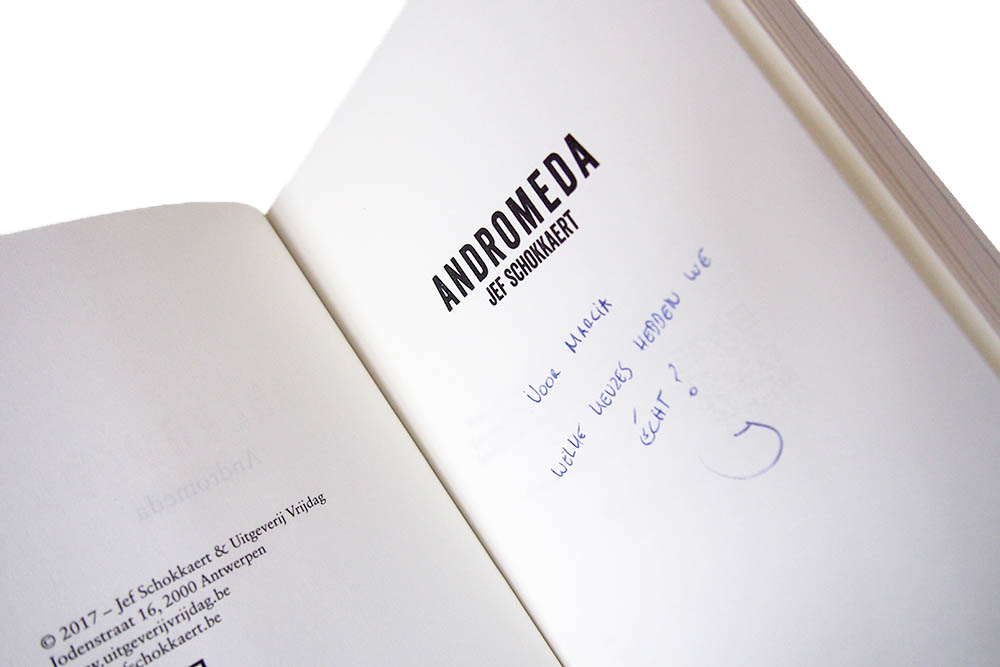 Andromeda - Jef Schokkaert