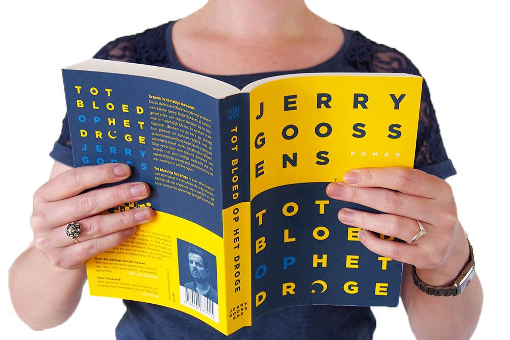Tot bloed op het droge - Jerry Goossens