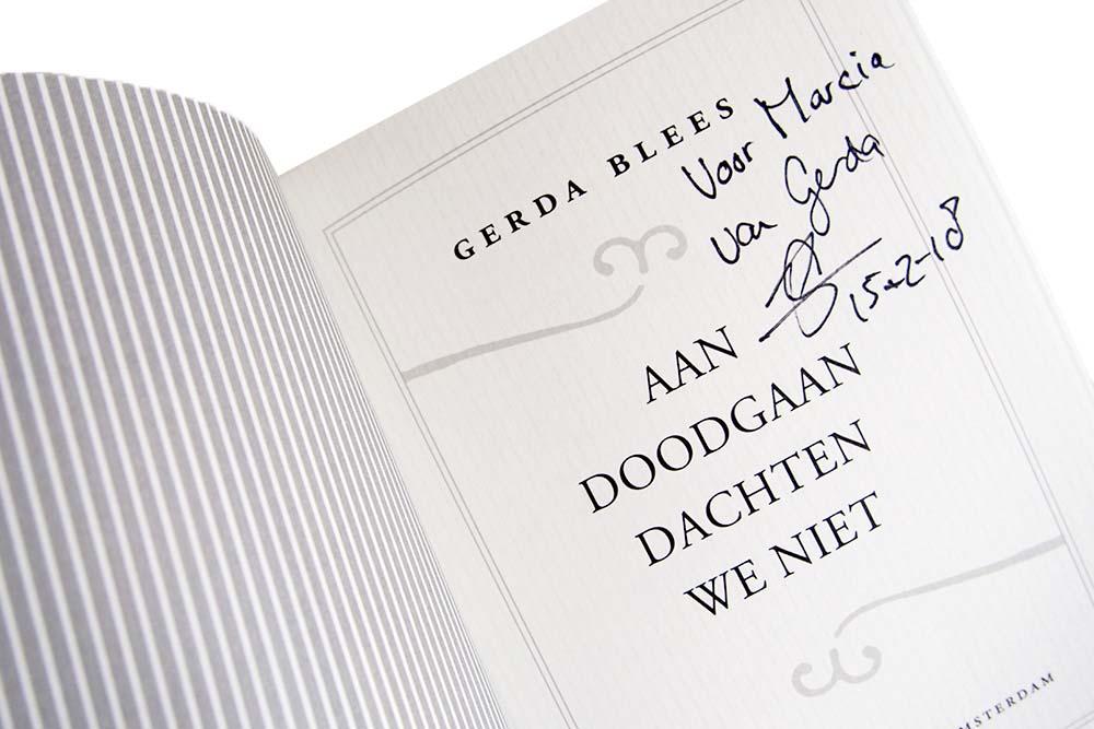 Aan doodgaan dachten we niet - Gerda Blees
