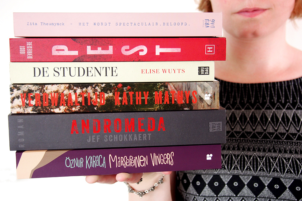 9 debuutromans van Vlaamse bodem