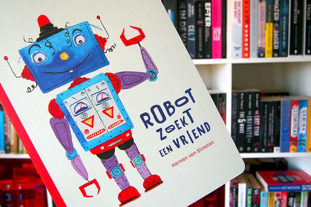 Robot zoekt een vriend - Harmen van Straaten
