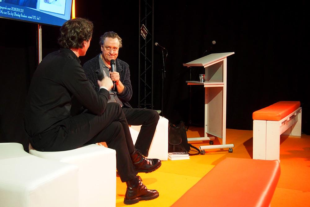 Martin Michael Driessen op de Boekenbeurs
