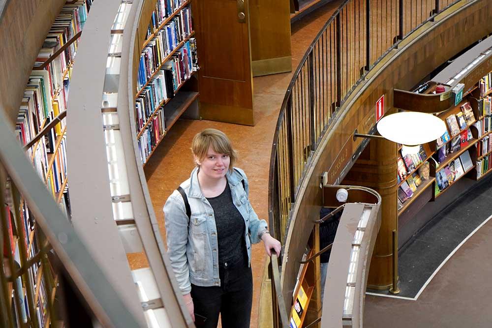 Stadsbibliotek Stockholm