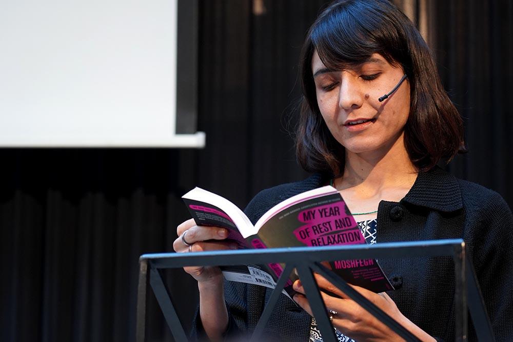 Ottessa Moshfegh leest voor