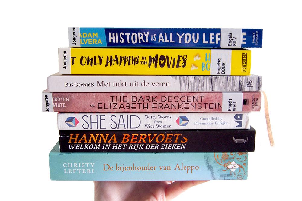 Deze 11 boeken las ik in juli