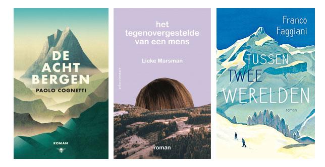 Boeken in de bergen