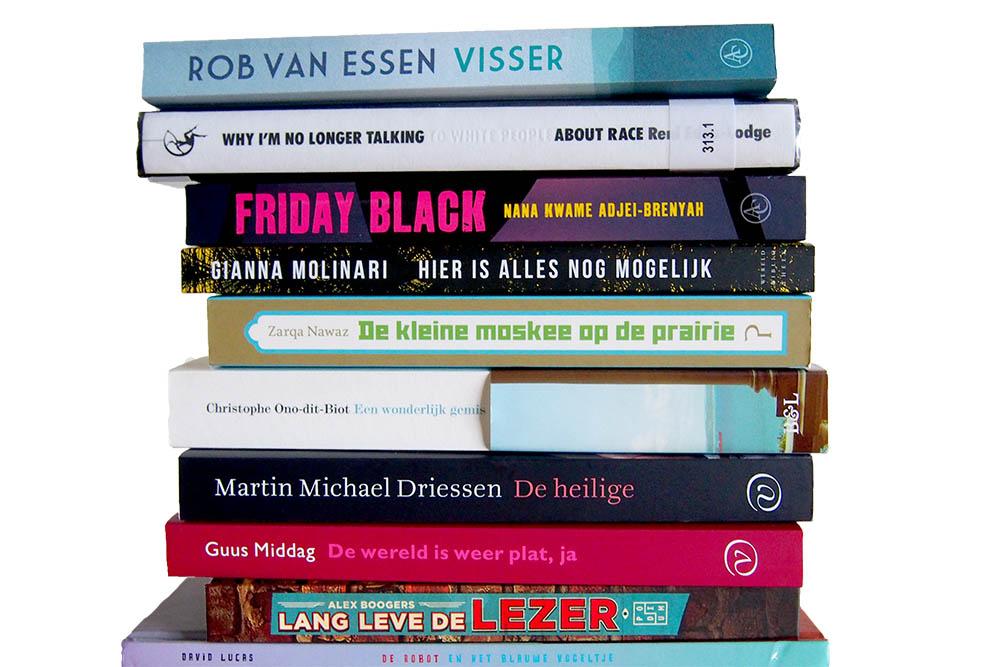 Deze 14 boeken las ik in september