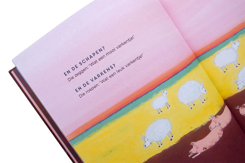 Het lammetje dat een varken is - Pim Lammers