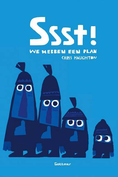 Ssst! We hebben een plan: een kleurrijk en aandoenlijk prentenboek
